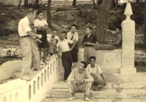 Eduardo Bonnín hablando en el Cursillo de Cala Figuera