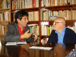 Luis Reyes Larios con Eduardo Bonnín